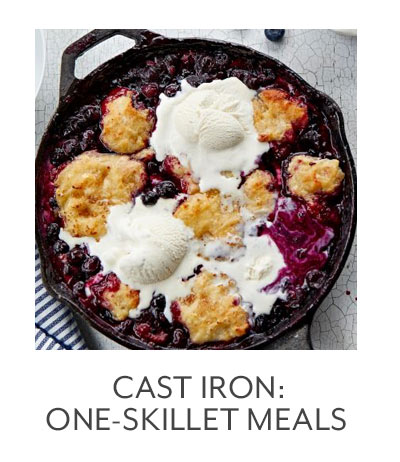 Cast Iron: One-Skillet Meals