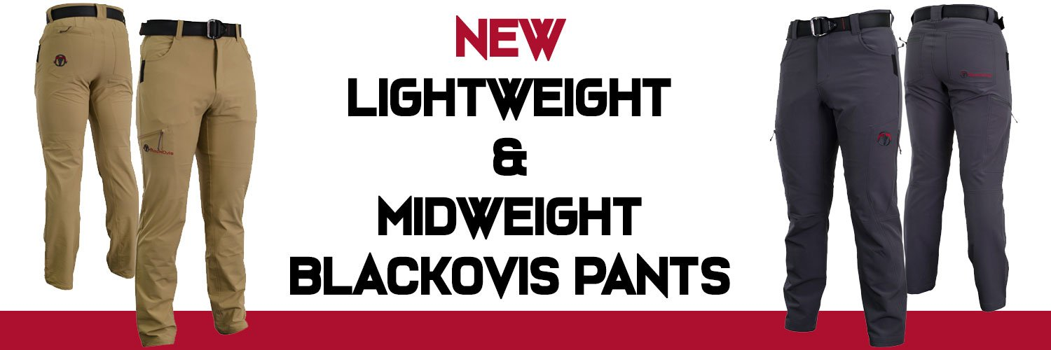 daa6ad3795d9d We have a lightweight model and a midweight model. These are great pants  for everyday wear or great for hunting if you like wearing solids in the  field.
