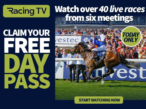 Free Racing Tips: FREE Racing TV Day Pass [Today Only] | Milled