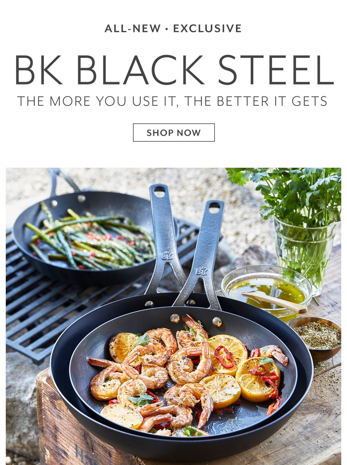 BK Steel Skillet