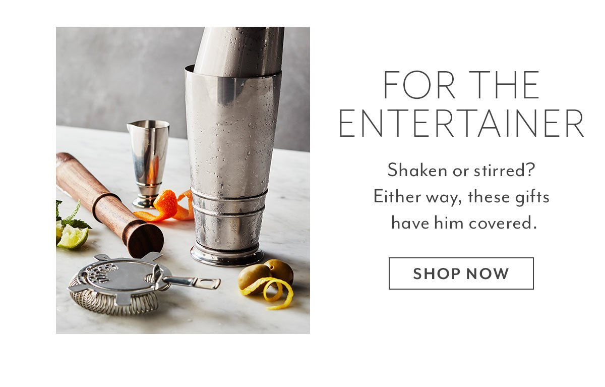 For the Entertainer
