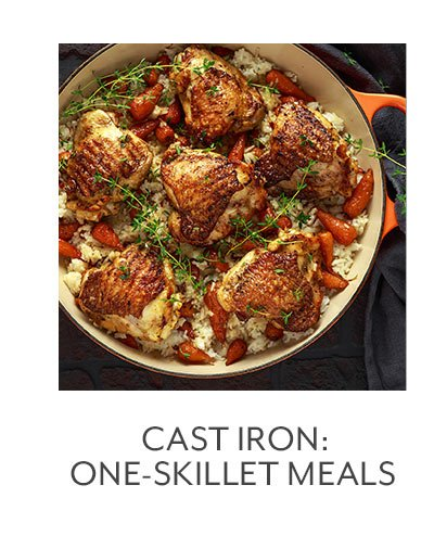 Class: Cast Iron • One-Skillet Meals