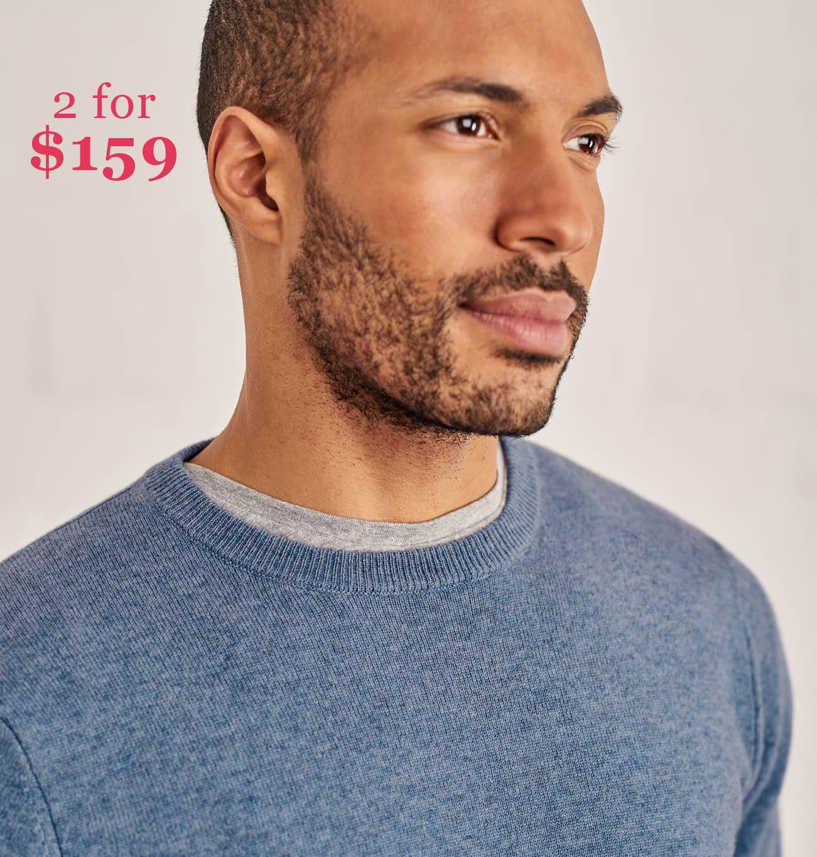 Mens 2 for $159