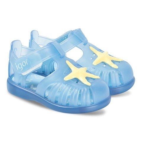 Igor Blue Star Tobby Jelly Sandals