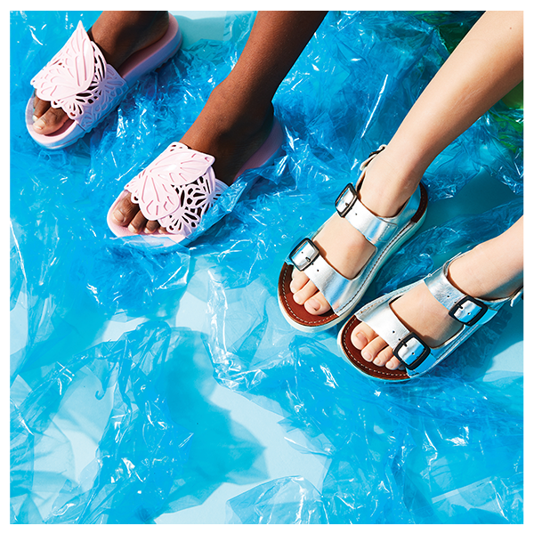 SANDALS AND JELLIES