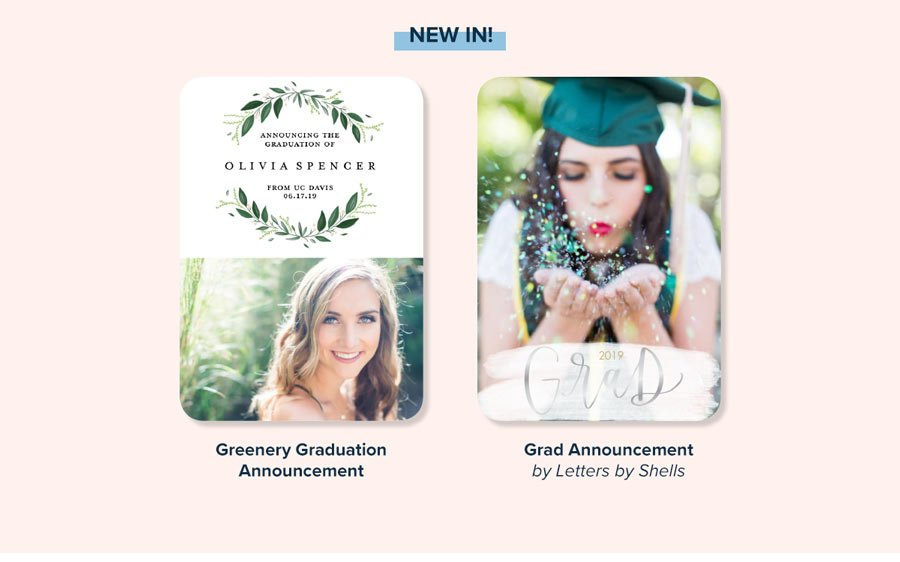 Our Top Picks for Grads! Graduation Announcements - Create Your Own