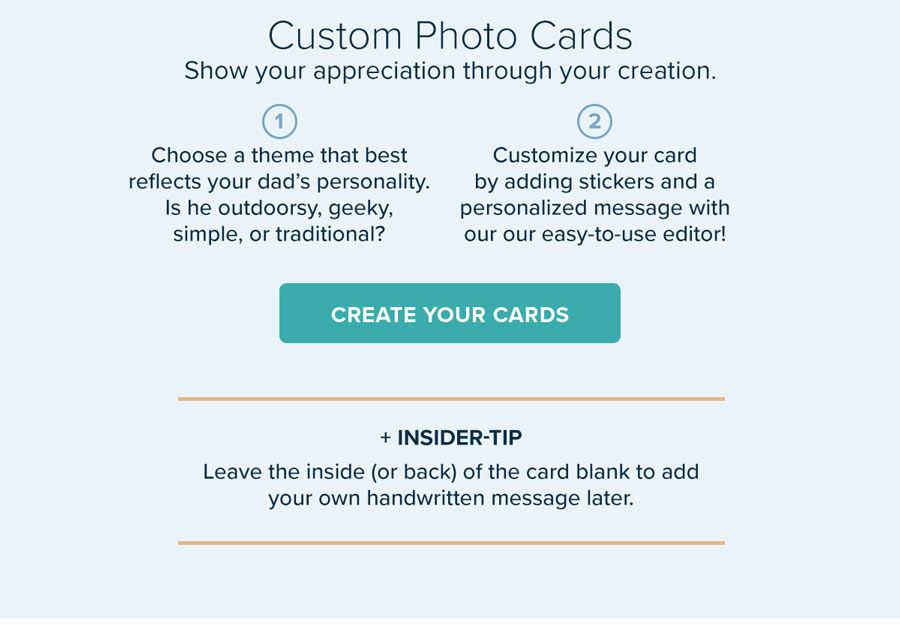 Custom Photo Cards - Show Your Appreciation Through Your Creation - Create Your Cards