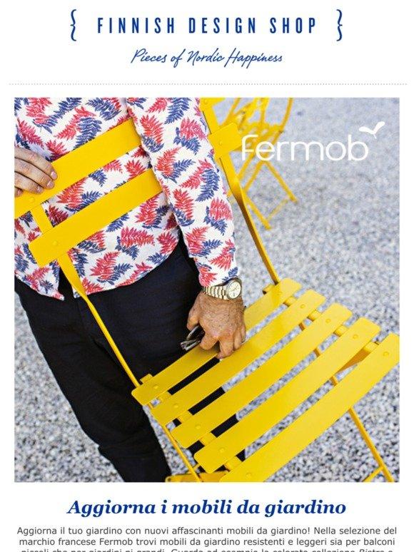 Fermob Mobili Da Giardino.Finnish Design Shop Aggiorna I Mobili Da Giardino Lampade
