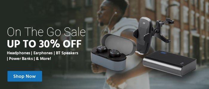 Monoprice com: On the Go Sale: IPX4 Sweatproof True Wireless