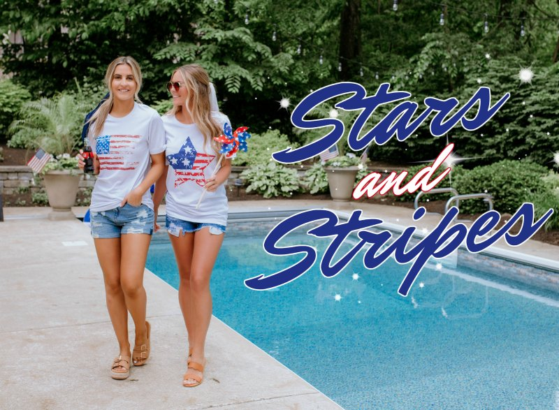 stars and stripes tees