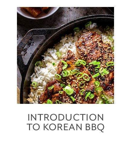 Class: Introduction to Korean BBQ