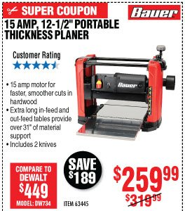 Harbor Freight: Bauer Days Going On Now   Milled