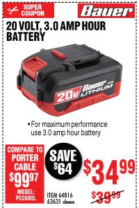 Harbor Freight: Bauer Days Going On Now | Milled
