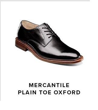 Mercantile Plain Toe Oxford