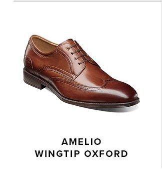 Amelio Wingtip Oxford