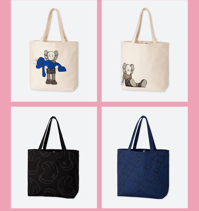 BODY3 PDP - KAWS SUMMER TOTE BAGS