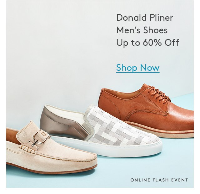 Donald Pliner | Men's Shoes | Up to 60% Off | Shop Now | Online Flash Event
