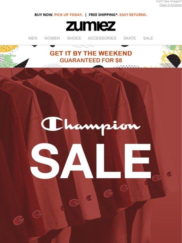 Zumiez: ⇨ CHAMPION SALE + New Essentials | Milled