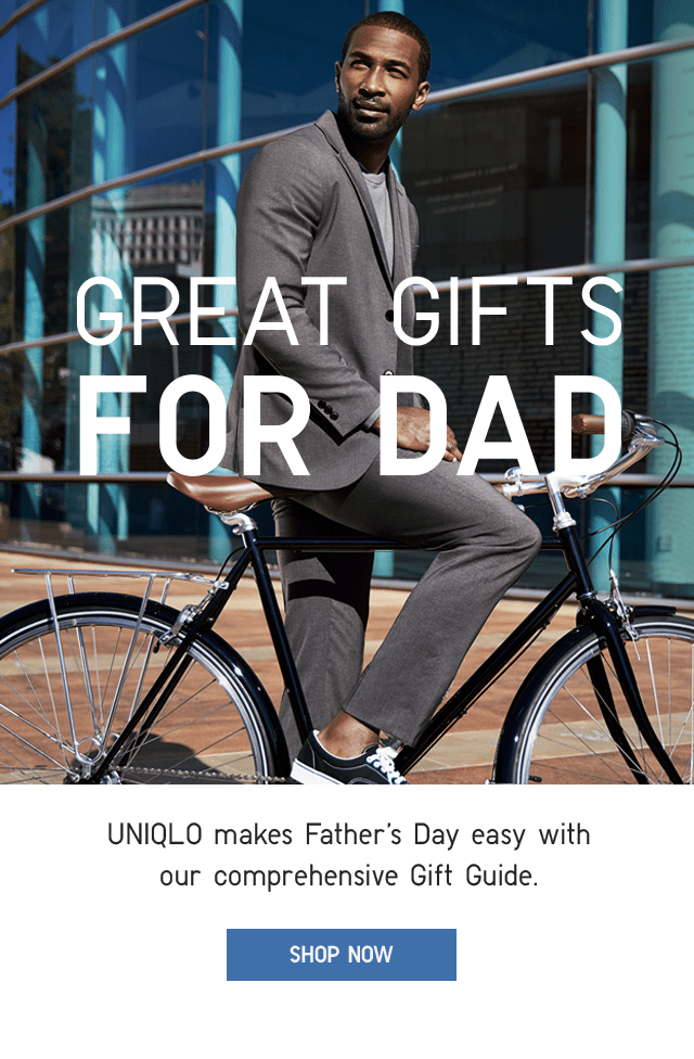 BANNER - FATHER'S DAY GIFT GUIDE
