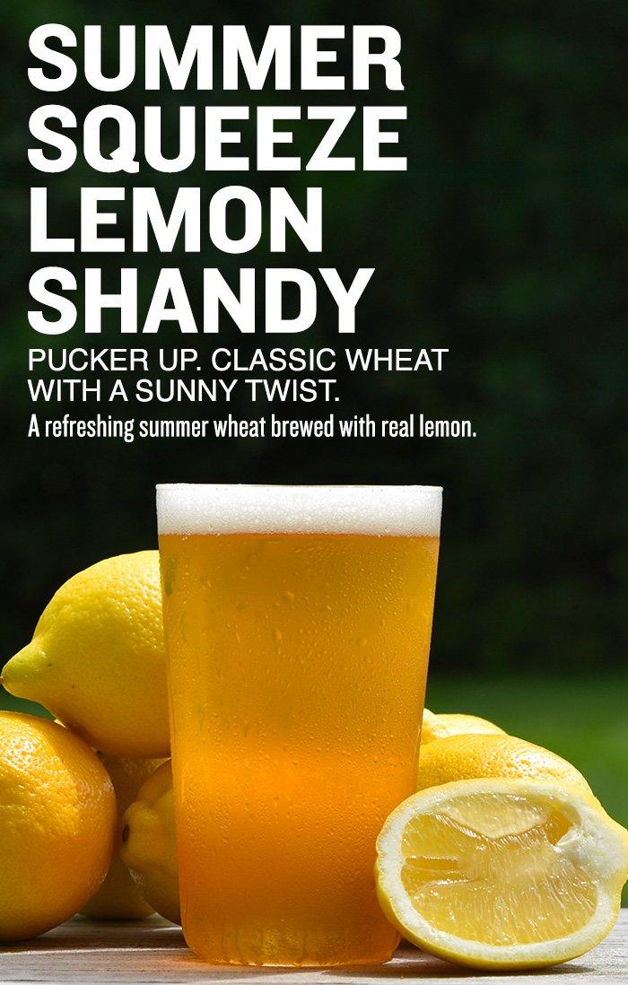 Summer Squeeze Lemon Shandy