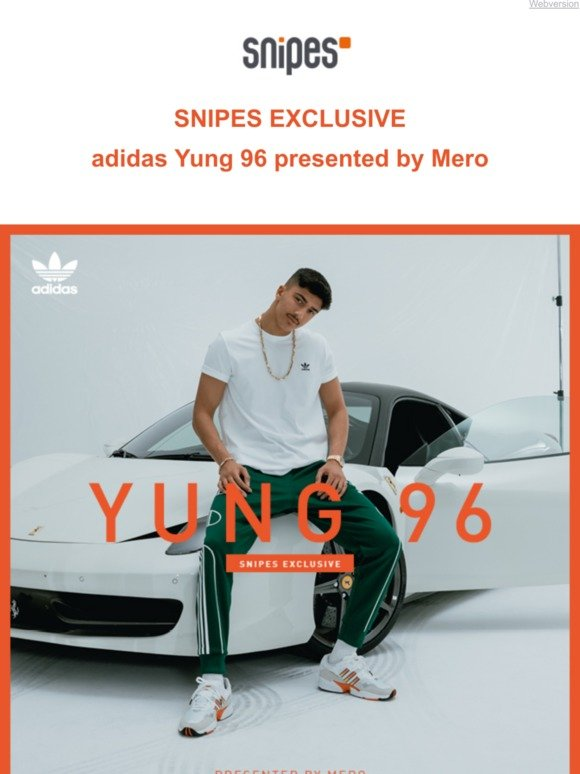 Snipes.Com: adidas Yung 96 presented by