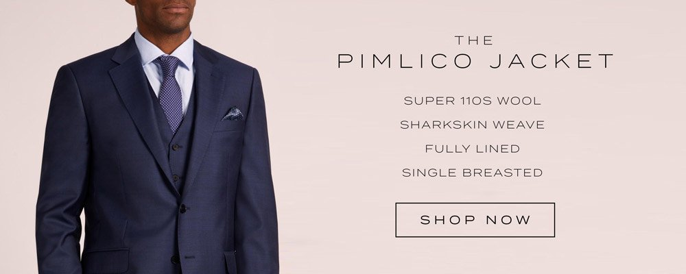 Austin Reed The Luxury Pimlico Suit 100 Wool Modern Premium Milled