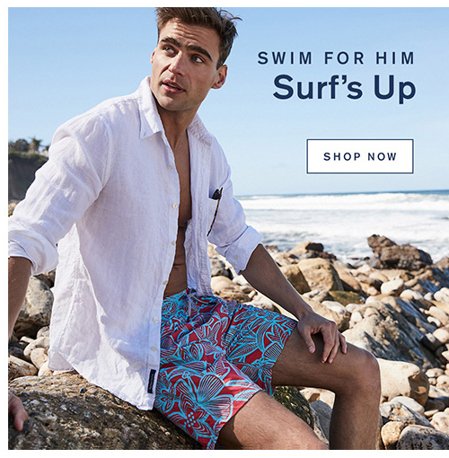 Swim For Him Surf's Up. Shop Now