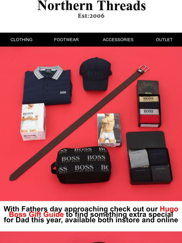 bfa0f8a4e Northern Threads: Fathers Day Gift Guide Hugo Boss | Milled