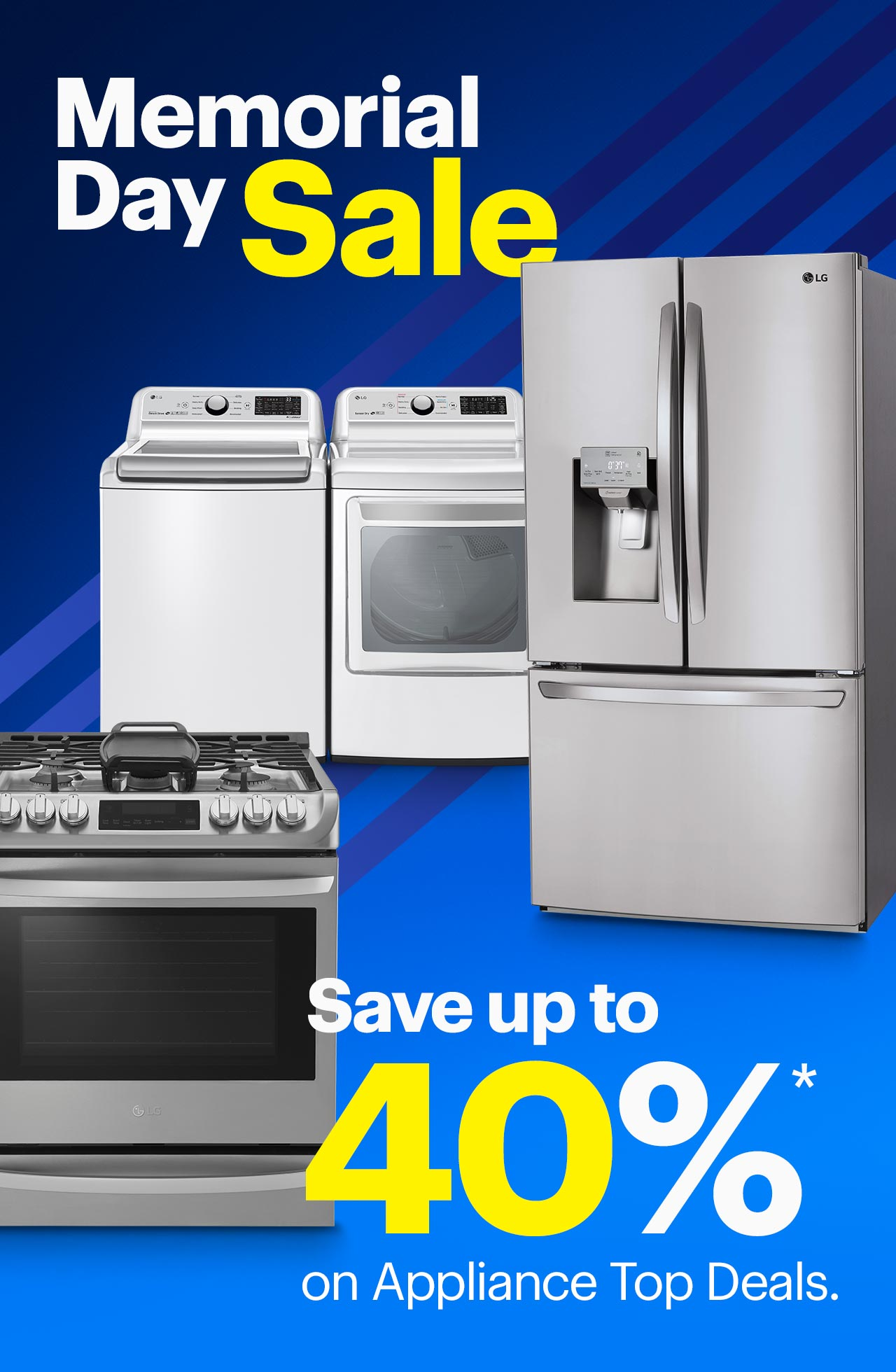 Best Buy Ends Today Save Up To 40 On Appliance Top Deals With