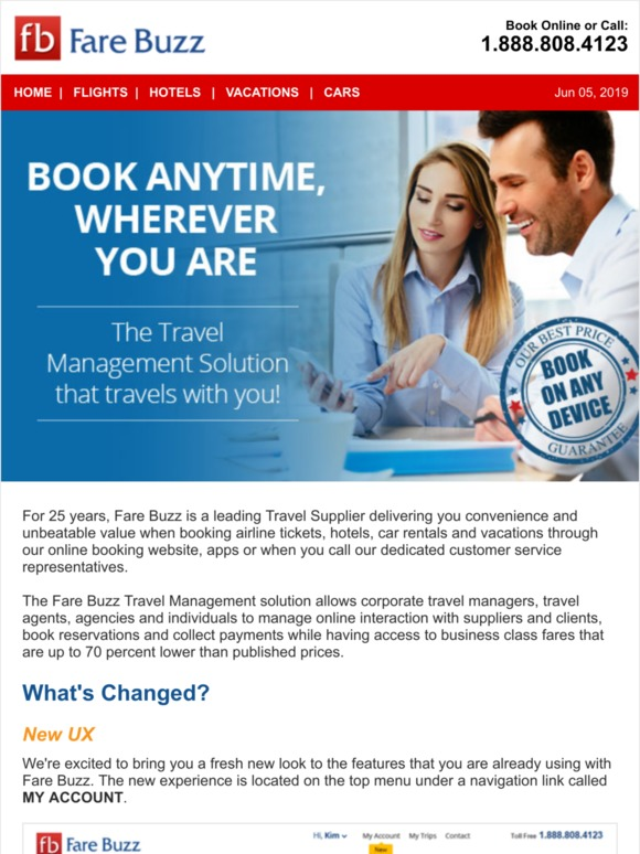 fare buzz for travel agents