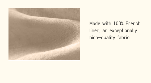 BODY1 FUNCTION - MADE WITH 100% FRENCH LINEN