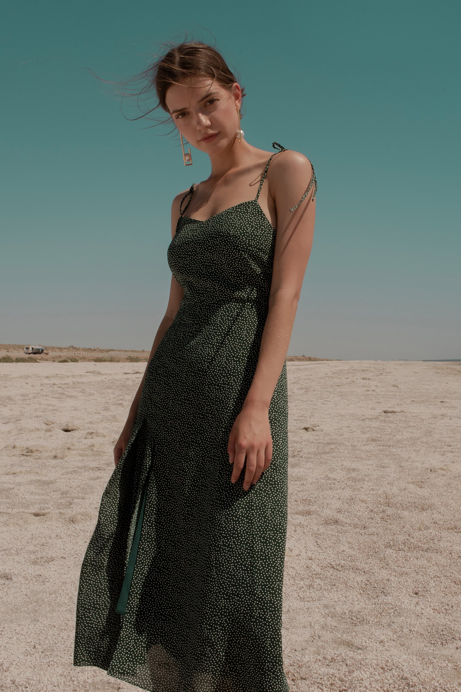 Image of FOREST MIDI DRESS
