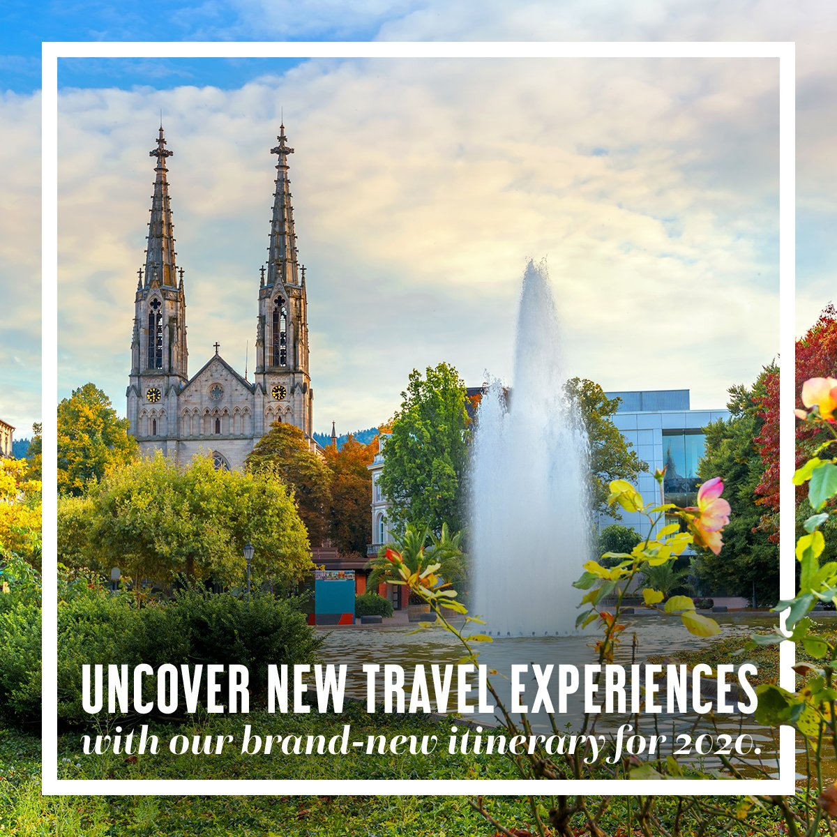 Uncover new travel experiences with our brand-new itinerary for 2020