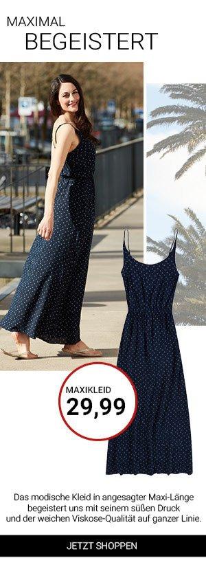 jeans fritz maxikleid