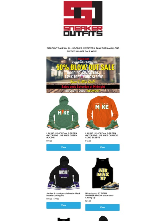 e9c09217fde SneakerOutfits: 50% OFF BLOW OUT SALE   Milled