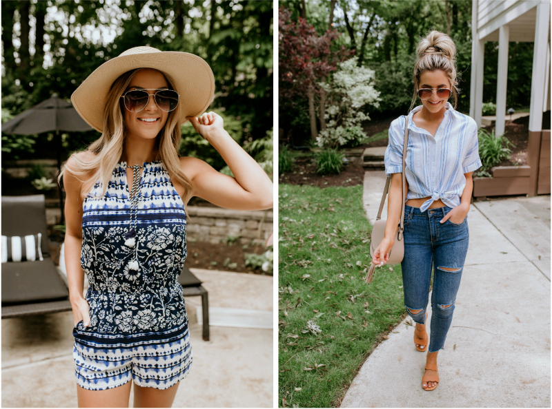 printed summer outfits