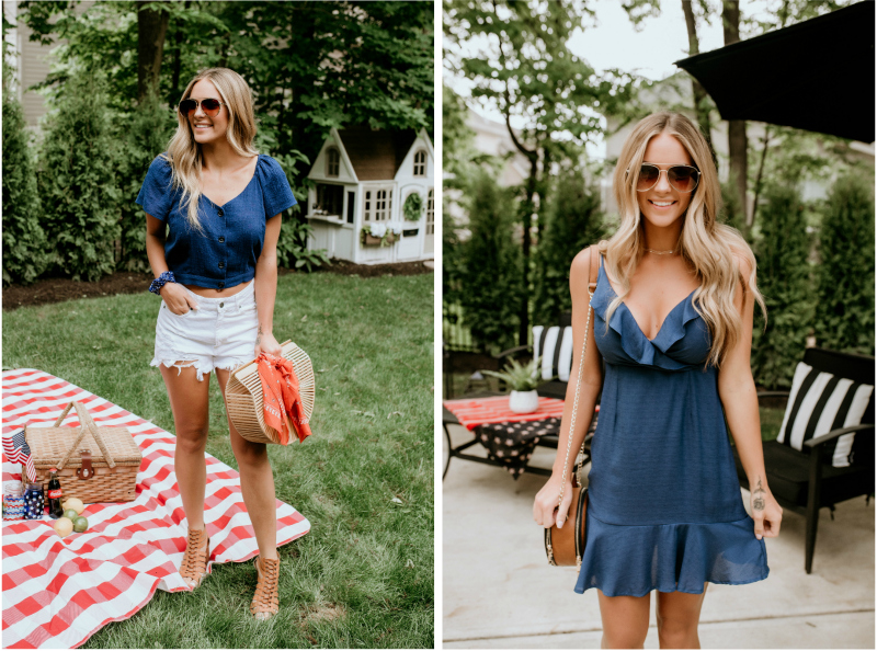 navy blue summer styles