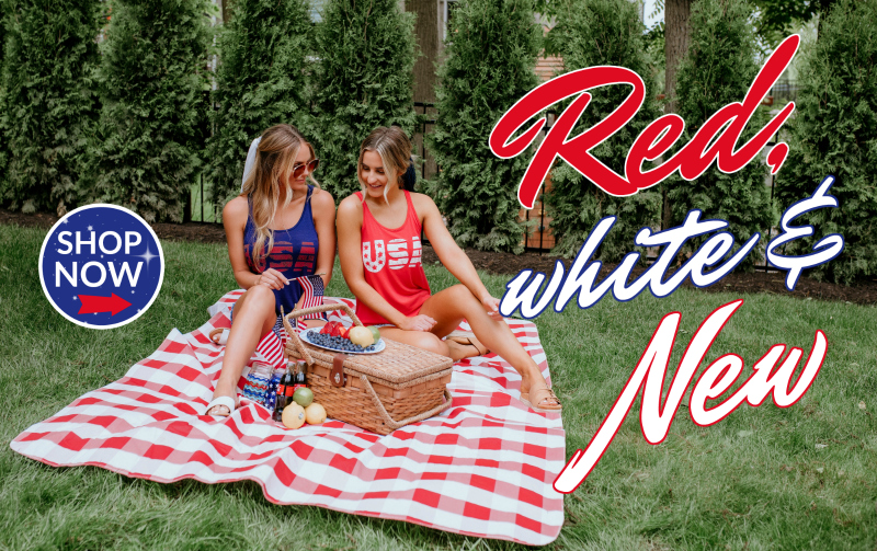 Red, White, and New 4th of july collection