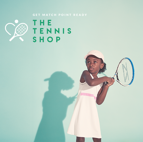 the tennis shop