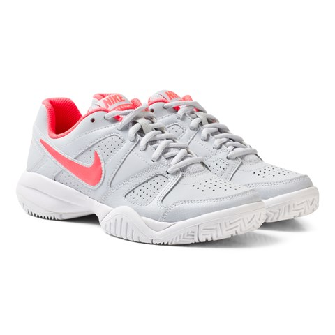 Nike White NikeCourt City 7 Junior Tennis Shoe