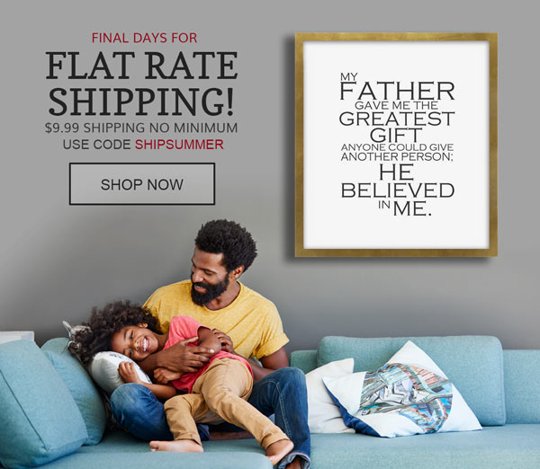 Flat Rate Shipping No Minimum Purchase Use Code SHIPSUMMER
