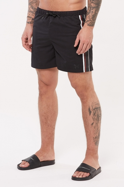 Speed Black Swim Shorts