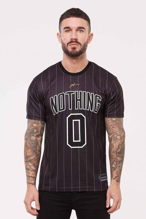 Nothing Pinstripe Black Jersey