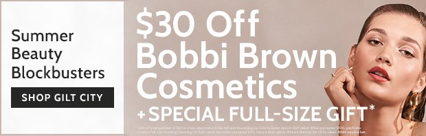 $30 Off Bobbi Brown