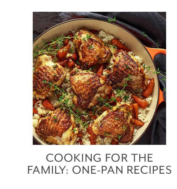Class: Cooking for the Family: One-Pan Recipes