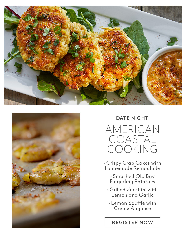 Class: Date Night • American Coastal Cooking