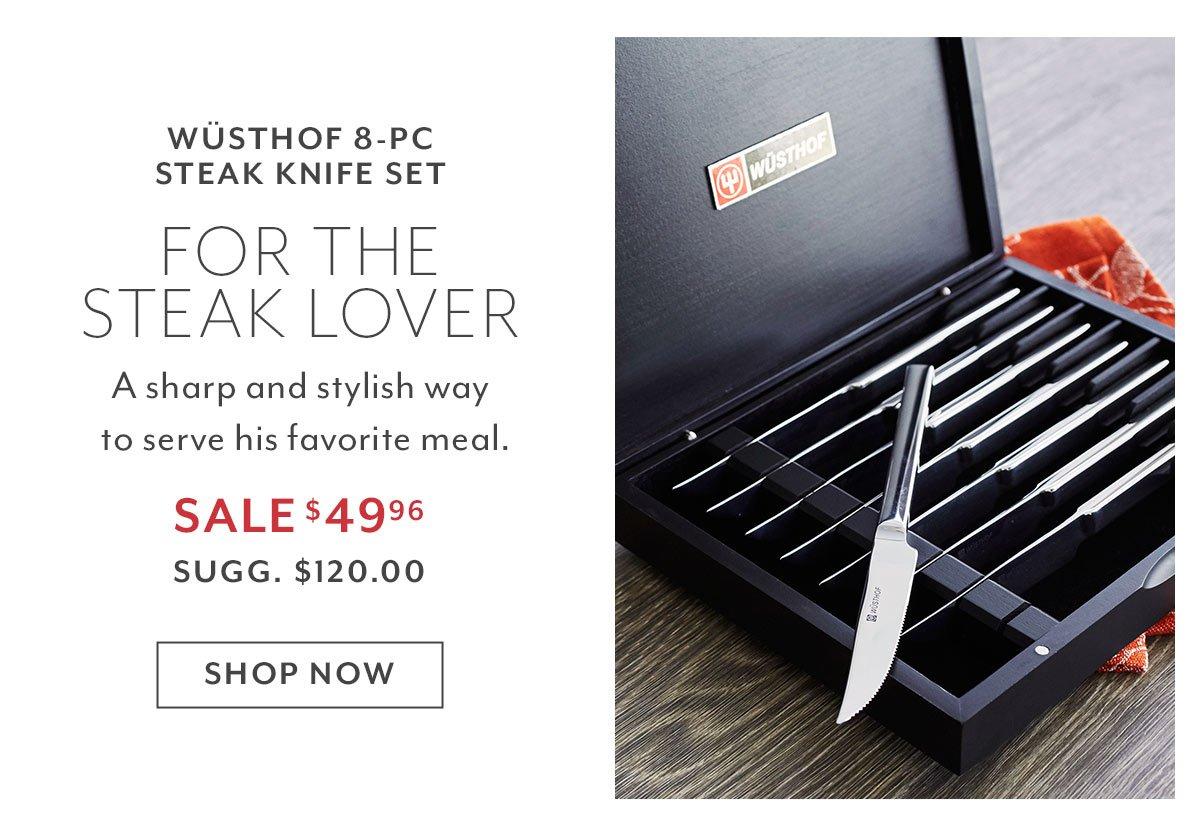 Wüsthof 8-PC Steak Knife Set