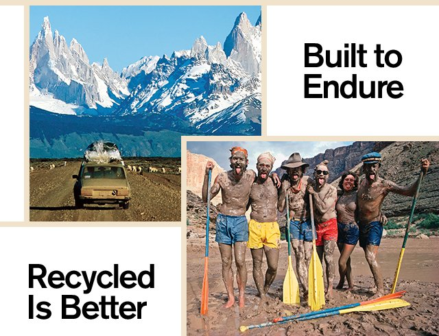 Built to Endure | Recycled Is Better
