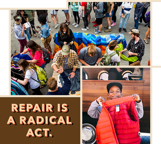 Repair is a radical act.