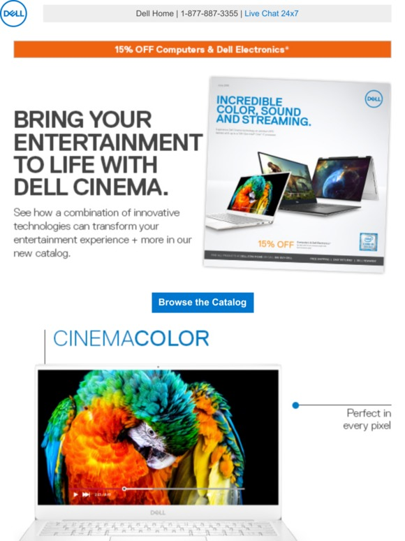 Dell: Dell Cinema | On the cutting edge on entertainment